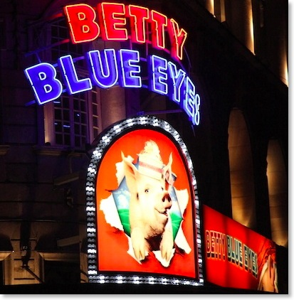 Betty Blue Eyes, Novello Theatre, London